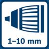 หัวจับ Auto-Lock 1.0 - 10.0 มม.