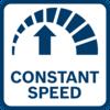 ชิ้นงานมีคุณภาพดีเยี่ยมจากความเร็วคงที่ อันเป็นผลมาจากระบบควบคุมความเร็วแบบอิเล็กทรอนิกส์แม้ในสภาวะที่มีโหลด