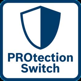 ปกป้องผู้ใช้ได้ดียิ่งขึ้น สวิตช์ป้องกันจะตัดการทำงานของเครื่องทันทีที่ปล่อย