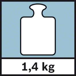 GWM 32 น้ำหนัก 1.4 กก. น้ำหนัก 1.4 กก.