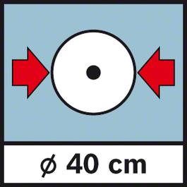 GWM 40 เส้นผ่าศูนย์กลาง 40 ซม. เส้นผ่าศูนย์กลางล้อ 40 ซม.