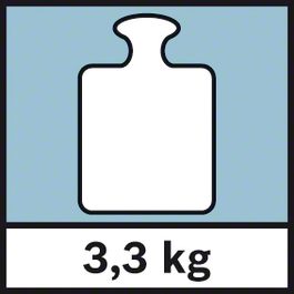 GWM 40 น้ำหนัก 3.3 กก. น้ำหนัก 3.3 กก.