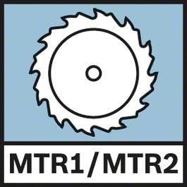 MTR1/MTR2 คำนวณมุมระนาบโดยอัตโนมัติเมื่อกดปุ่ม