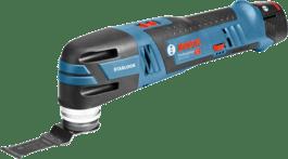 with 2 x 2.5 Ah Li-ion battery, plunge cut saw blade