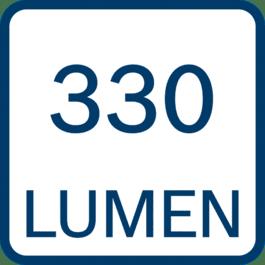 330 ลูเมน
