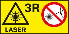 คลาสของเลเซอร์ 3R คลาสของเลเซอร์สำหรับเครื่องมือวัดต่างๆ