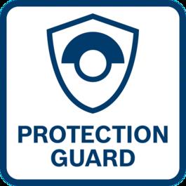 ปกป้องผู้ใช้ได้ดียิ่งขึ้น ด้วยฝาครอบป้องกันการสะบัด – ทำงานได้อย่างปลอดภัยแม้แผ่นเจียรแตกหัก
