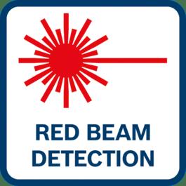 การตรวจหาลำแสงสีแดง