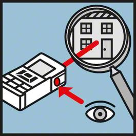 กล้องวัดระยะ VF ช่องมองในตัวเพื่อให้มองเห็นจุดเลเซอร์ได้อย่างชัดเจน