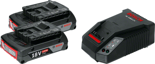 2 x GBA 18V 2.0Ah + AL 1860 CV Professional