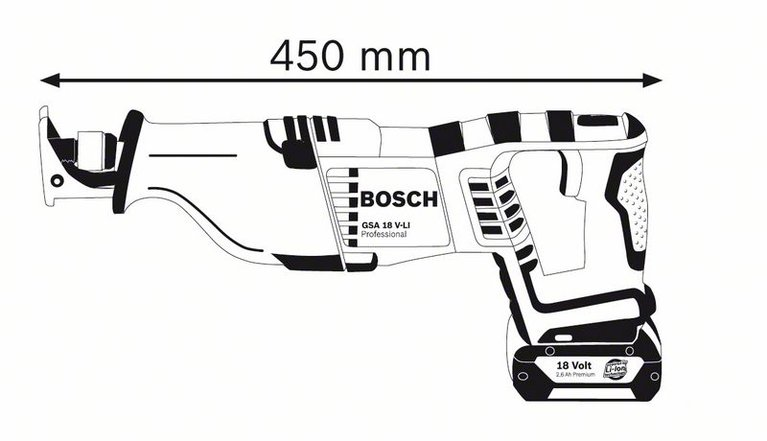 GSA 18V-LI SOLO